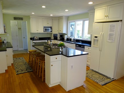 Nantucket town Nantucket vacation rental - Lovely modern kitchen with breakfast bar seating