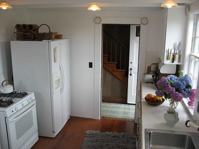 Shimmo Nantucket vacation rental - Kitchen