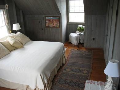 Shimmo Nantucket vacation rental - Master bedroom with king