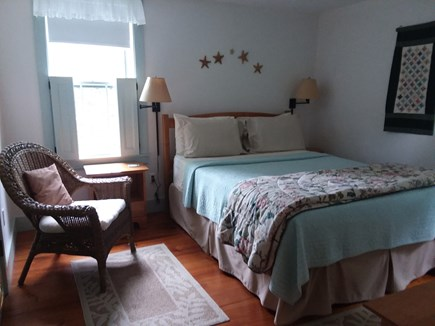 Nantucket town Nantucket vacation rental - Queen bedroom on first floor.  Shower/tub bath adjacent.