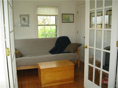 Madaket / Nantucket Nantucket vacation rental - Den with Double Bed Futon