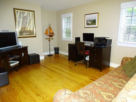 Mid-island, Nantucket, MA Nantucket vacation rental - Office on main floor, separate space for watching TV or quiet