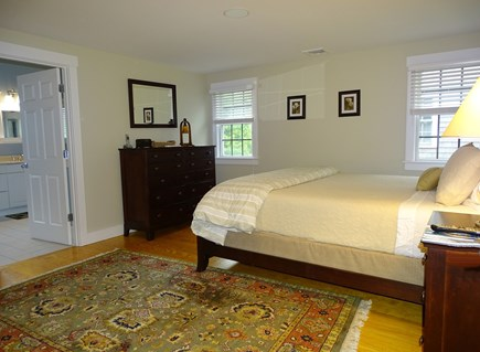 Mid-island, Nantucket, MA Nantucket vacation rental - Upstairs king master bedroom with private bath