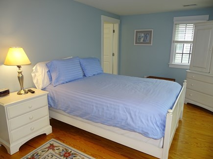 Mid-island, Nantucket, MA Nantucket vacation rental - Queen bedroom upstairs with private bath