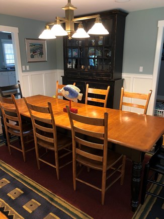 Mid-island, Nantucket, MA Nantucket vacation rental - Dining room with seating for 10 people