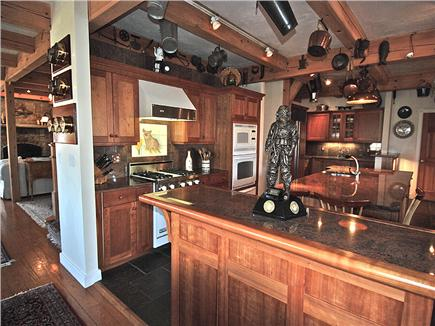 Siasconset Nantucket vacation rental - Kitchen has granite countertops, Viking range, Sub-Zero fridge