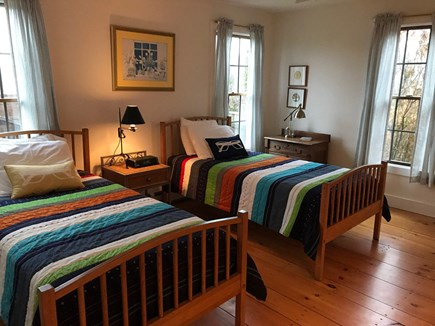 Madaket, Nantucket Nantucket vacation rental - First floor, twin bedroom with attached full bath.