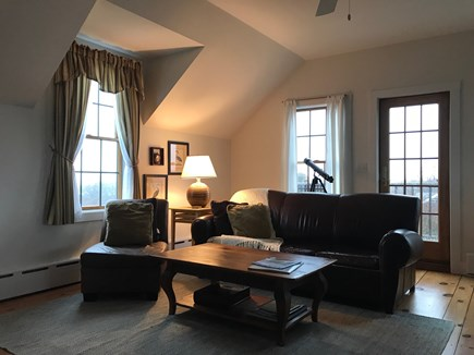 Madaket, Nantucket Nantucket vacation rental - Second family room w/ exit to grilling deck. Queen pull out.
