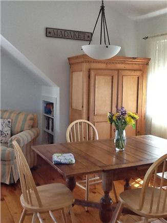 Madaket, Nantucket Nantucket vacation rental - Dining Room off the kitchen and family room...all hardwood floors