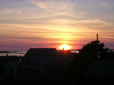 Madaket, Nantucket Nantucket vacation rental - A Madaket sunset...best on the Island, right outside your window.