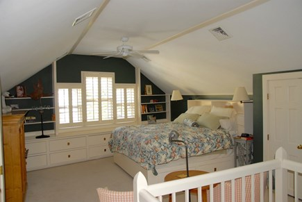 Nantucket town, Nantucket Nantucket vacation rental - Master bedroom. You have the whole floor to yourselves! AC, bath