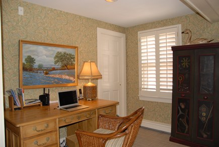 Nantucket town, Nantucket Nantucket vacation rental - Work, if you must, at your desk with high speed wi-fi.