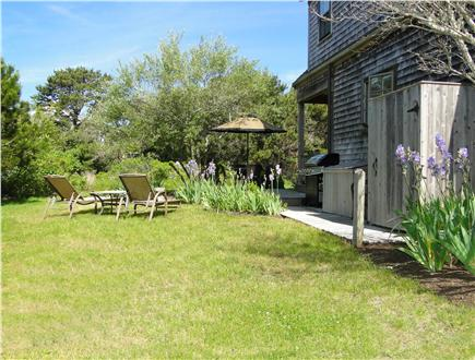 Surfside, Nantucket Nantucket vacation rental - Backyard area with outdoor shower, privacy