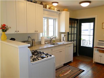 Surfside, Nantucket Nantucket vacation rental - Newly remodeled kitchen, facing back deck