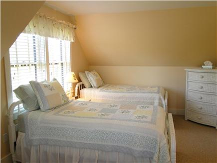 Surfside, Nantucket Nantucket vacation rental - Upstairs twin bedroom, with flat screen TV
