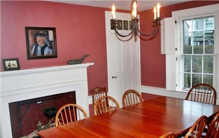 Nantucket town Nantucket vacation rental - Dining Room, seats 10 to 12 with an extra leaf not shown here.