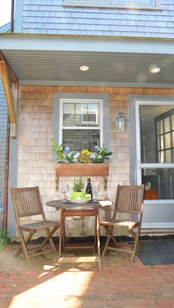 Siasconset Nantucket vacation rental - Relaxing outside seating area