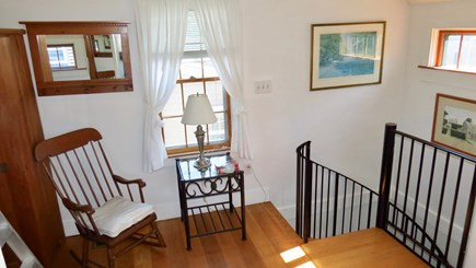 Siasconset Nantucket vacation rental - Top of stairs to loft
