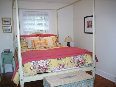 Surfside, Nantucket Nantucket vacation rental - Queen guest rooms feature four-poster beds.