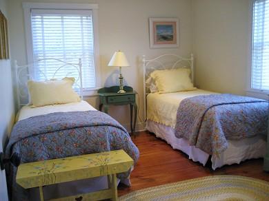 Surfside, Nantucket Nantucket vacation rental - Bright. sunny twin-bedded guest room.