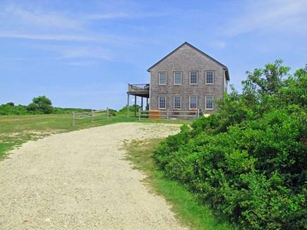 Madaket Nantucket vacation rental - Arrival at Osprey