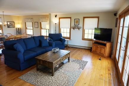 Madaket Nantucket vacation rental - Living Room with French Doors