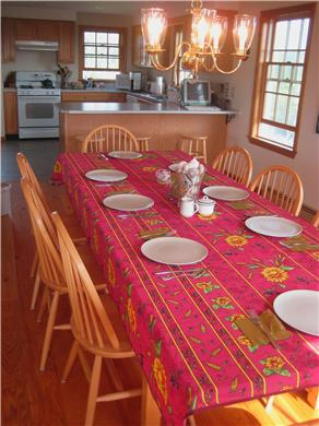 Madaket Nantucket vacation rental - Dining for 8 or 10