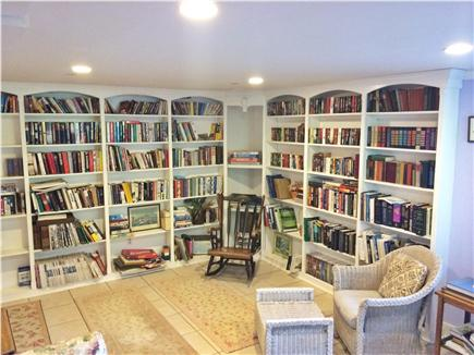 Madaket Nantucket vacation rental - Study