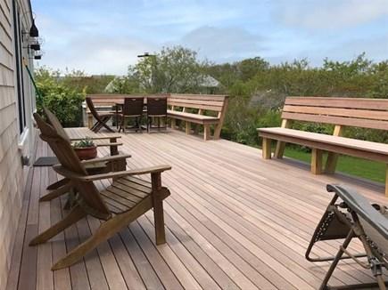 Madaket, Nantucket Nantucket vacation rental - New mahogany deck