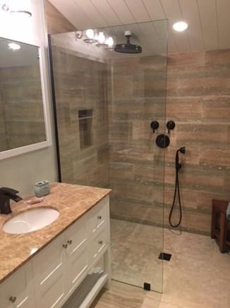 Madaket, Nantucket Nantucket vacation rental - New master bath - walk in shower - all tile