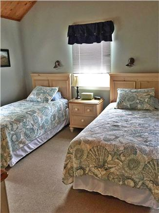 Madaket, Nantucket Nantucket vacation rental - Bedroom 2 - twin - cathedral ceiling