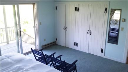 Brant Point Nantucket vacation rental - Master Bedroom with sliders to 1st floor deck