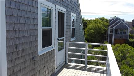 Brant Point Nantucket vacation rental - Back door to deck