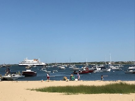 Nantucket town Nantucket vacation rental - Walk to Kayak Beach or Children's Beach for sand and harbor views