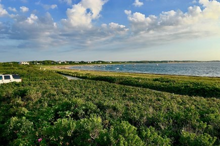 Wauwinet Nantucket vacation rental - View South