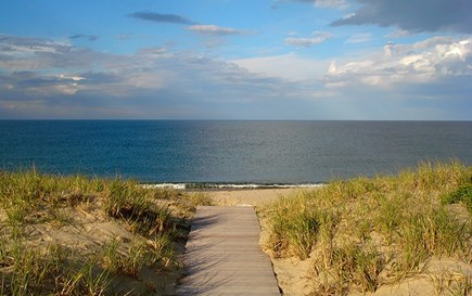 Wauwinet Nantucket vacation rental - Path to beach