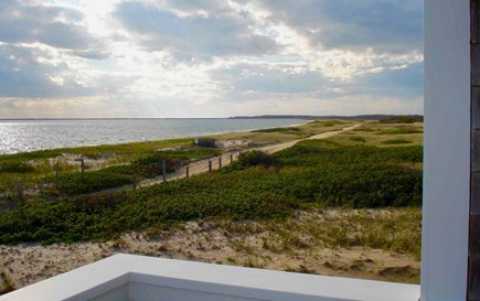 Wauwinet Nantucket vacation rental - View from the deck