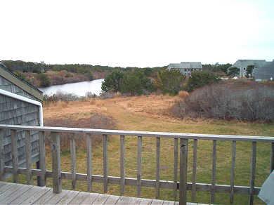Madaket, Nantucket Nantucket vacation rental - Deck view of White Goose Cove