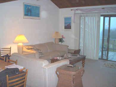 Madaket, Nantucket Nantucket vacation rental - Living area with sliders to deck