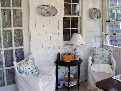 Siasconset Nantucket vacation rental - Sitting Area
