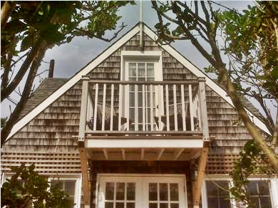 Siasconset Nantucket vacation rental - Balcony off bedroom with perfect ocean view
