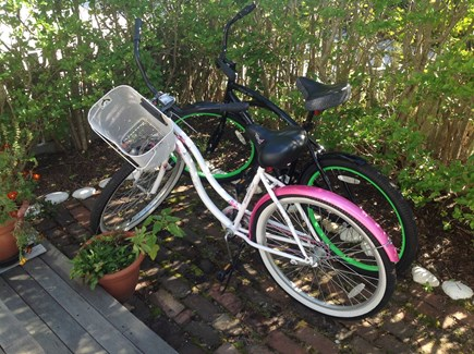 Siasconset Nantucket vacation rental - Two new bikes available for your use along with helmets