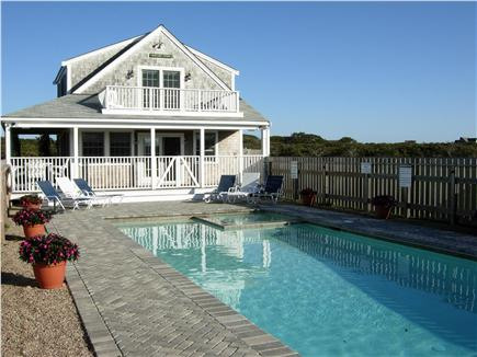 Tom Nevers, Siasconet Nantucket vacation rental - Pool with enclosed spa