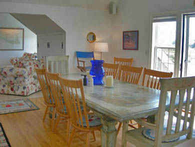 Tom Nevers, Siasconet Nantucket vacation rental - Main House's Dining Table