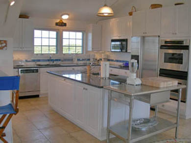 Tom Nevers, Siasconet Nantucket vacation rental - Main House's Commercial Kitchen