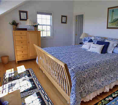 Tom Nevers, Siasconet Nantucket vacation rental - One King Bedroom in Main House