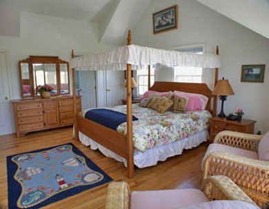 Tom Nevers, Siasconet Nantucket vacation rental - Second King Bedroom in the Main House