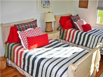 Tom Nevers, Siasconet Nantucket vacation rental - One of the 3 Twin Bedrooms in the Main House