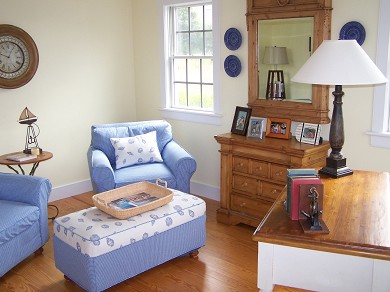 Mid-island - Naushop Nantucket vacation rental - Quiet Study w/ high speed internet