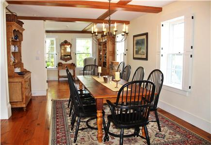 Nantucket town Nantucket vacation rental - Open Living and Dining accomodates large groups